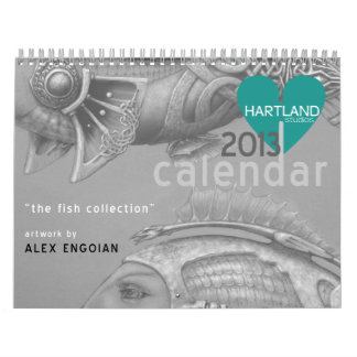 """the """"fish"""" collection calendars"""