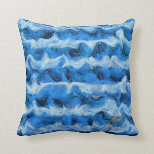 The Fish in the Sea Throw Pillow