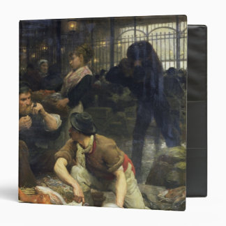 The Fish Market in the Morning, 1880 Vinyl Binders