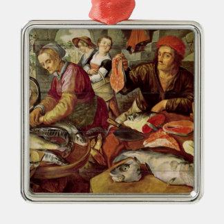 The Fish Market Metal Ornament