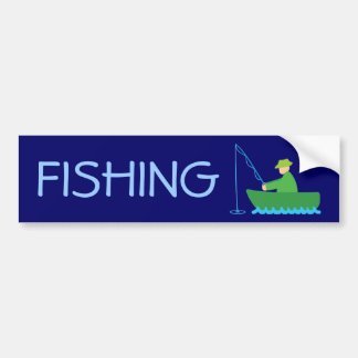 The Fisherman Bumper Sticker