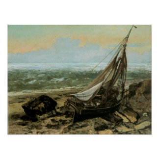 The Fishing Boat; 1865 Poster