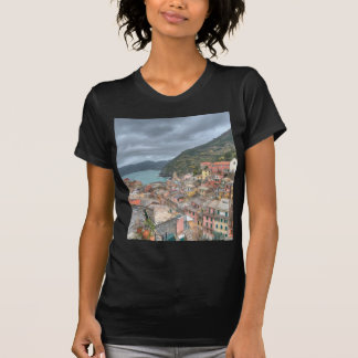 The fishing village of Vernazza, Cinque Terre, Ita T-Shirt
