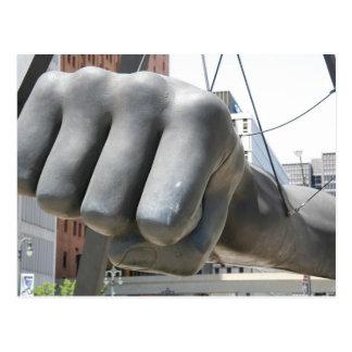The Fist Postcard