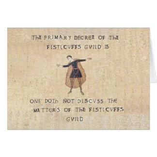 The Fisticuffs Guild Card
