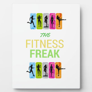 The Fitness Freak-Lemon Plaque