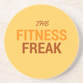 The Fitness Freak-Orange Coaster
