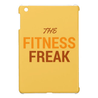 The Fitness Freak-Orange iPad Mini Cases