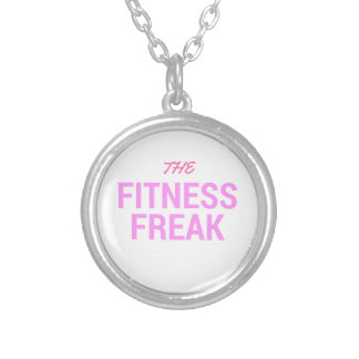 The Fitness Freak-Rose Silver Plated Necklace