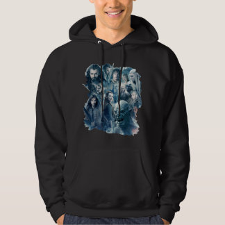 The Five Armies Character Graphic Hooded Pullover