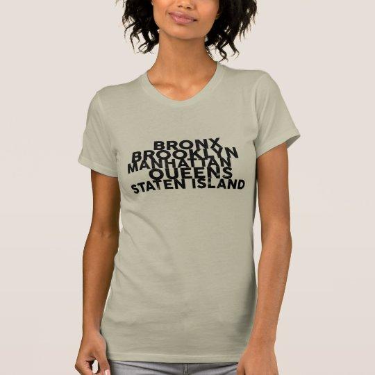 The Five Boroughs T-Shirt
