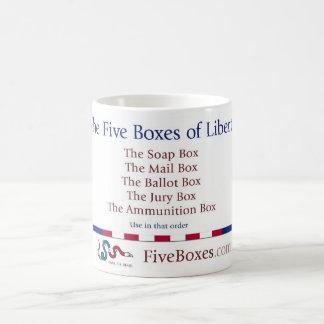 The Five Boxes Coffee Mug