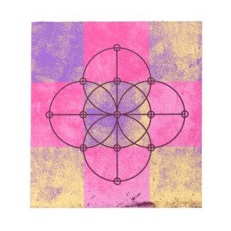 The Five Sacred Circles Notepad
