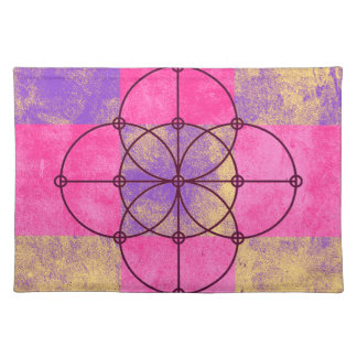 The Five Sacred Circles Placemat