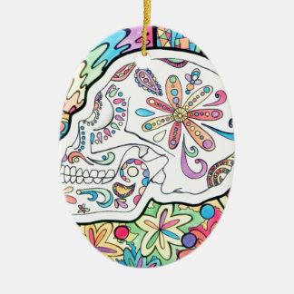 The Five Senses Ceramic Oval Ornament