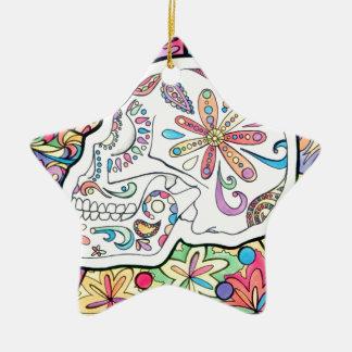The Five Senses Ceramic Star Ornament