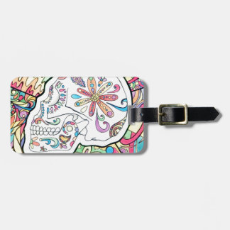 The Five Senses Luggage Tag