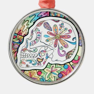 The Five Senses Metal Ornament