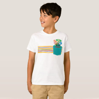 The Fixies | Papus with Kids in the Pocket T-Shirt