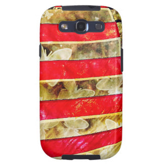 """""""the flag"""" galaxy SIII covers"""