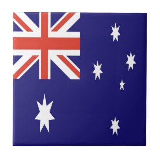 The Flag of Australia Ceramic Tile