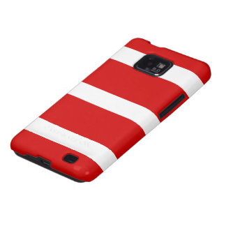 The Flag of Austria Galaxy SII Cases