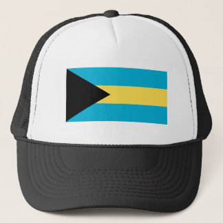 The Flag of Bahamas Trucker Hat