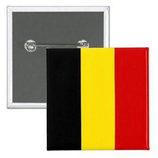 The Flag of Belgium Buttons