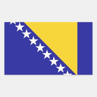 The flag of Bosnia and Herzegovina Sticker