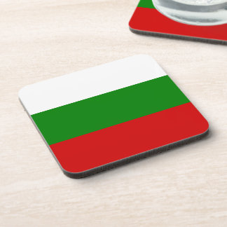 The Flag of Bulgaria Coaster