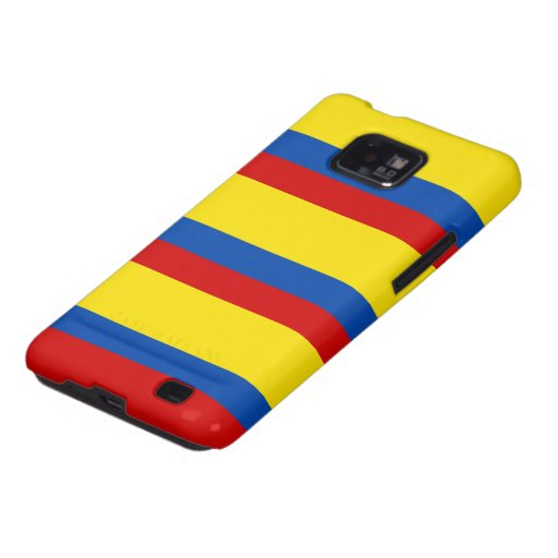 The Flag of Colombia Galaxy S2 Covers