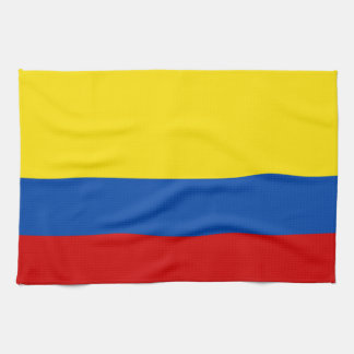 The Flag of Colombia Kitchen Towel