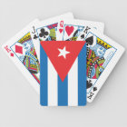 The Flag of Cuba Bicycle Playing Cards