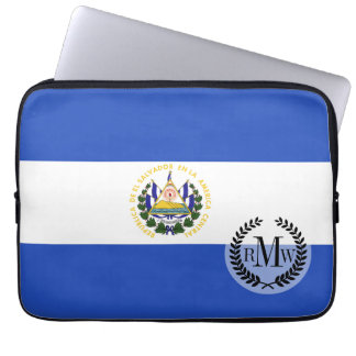 The flag of El Salvador Computer Sleeve