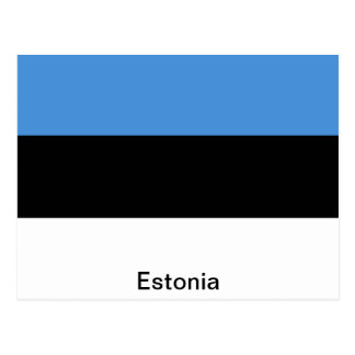 The Flag of Estonia Postcard