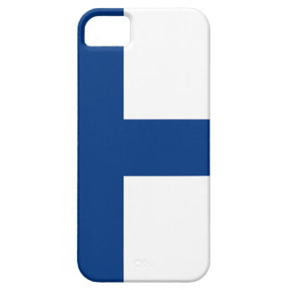 The Flag of Finland - Siniristilippu Case For The iPhone 5