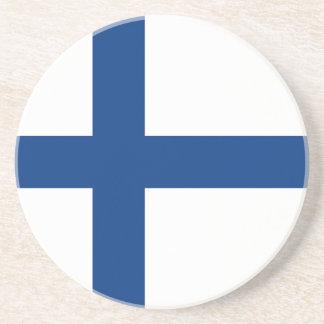 The Flag of Finland - Siniristilippu Coaster