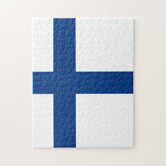 The Flag of Finland - Siniristilippu Jigsaw Puzzle