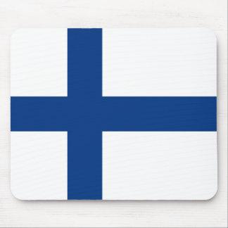 The Flag of Finland - Siniristilippu Mouse Pad