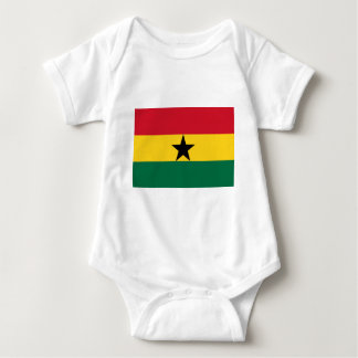 The Flag of Ghana Products Baby Bodysuit
