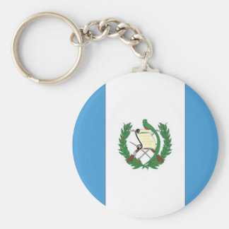 The Flag of Guatemala Keychain