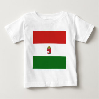 The flag of Hungary Baby T-Shirt