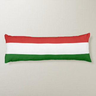 The flag of Hungary Body Pillow