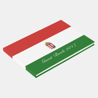 The flag of Hungary Guest Book
