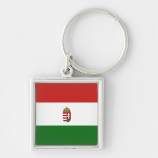 The flag of Hungary Keychain