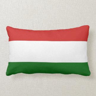 The flag of Hungary Lumbar Pillow