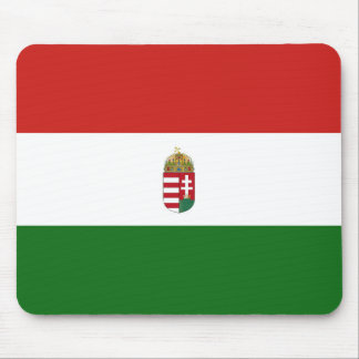 The flag of Hungary Mouse Pad