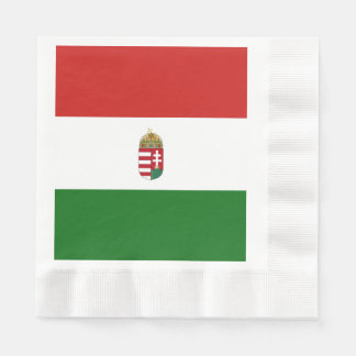 The flag of Hungary Paper Napkins