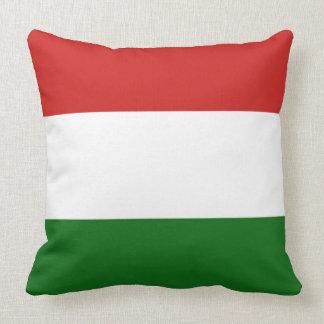 The flag of Hungary Throw Pillow
