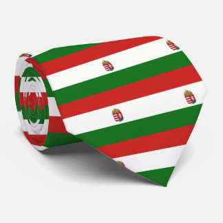 The flag of Hungary Tie